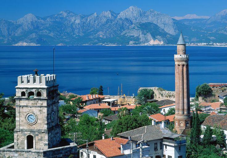 antalya yivli minare cami -