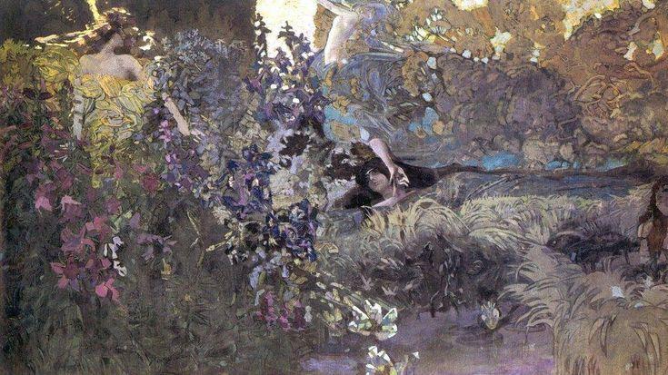 М.А. Врубель - Утро. 1897