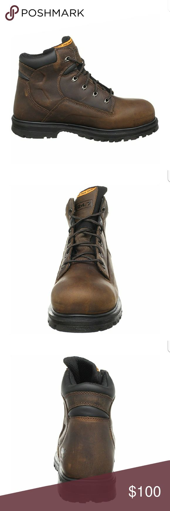 "TIMBERLAND  PRO SERIES MAGNUM 6""  NWT SAFETY TOE WORK BOOT. Timberland Shoes Boots"
