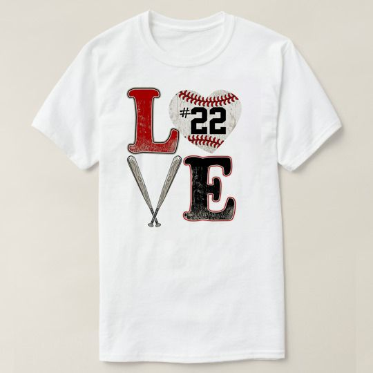 Love Baseball Custom Shirts //Price: $15.50 & FREE Shipping //     #cheapcustomshirts
