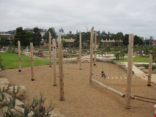 Royal Park Nature Playground, Gatehouse Street, Parkville