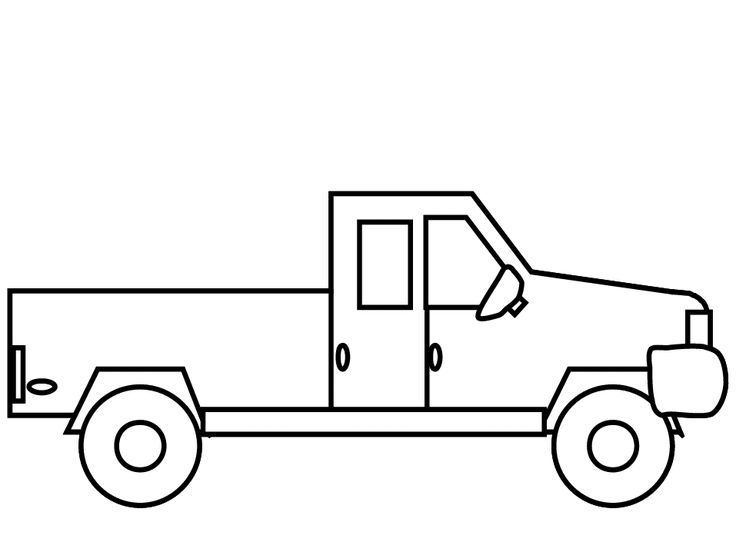 The 25 Best Truck Coloring Pages Ideas On Pinterest