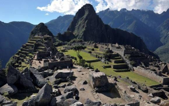 En el segundo lugar de la isla aparece Machu Picchu en Perú. FOTO AFP