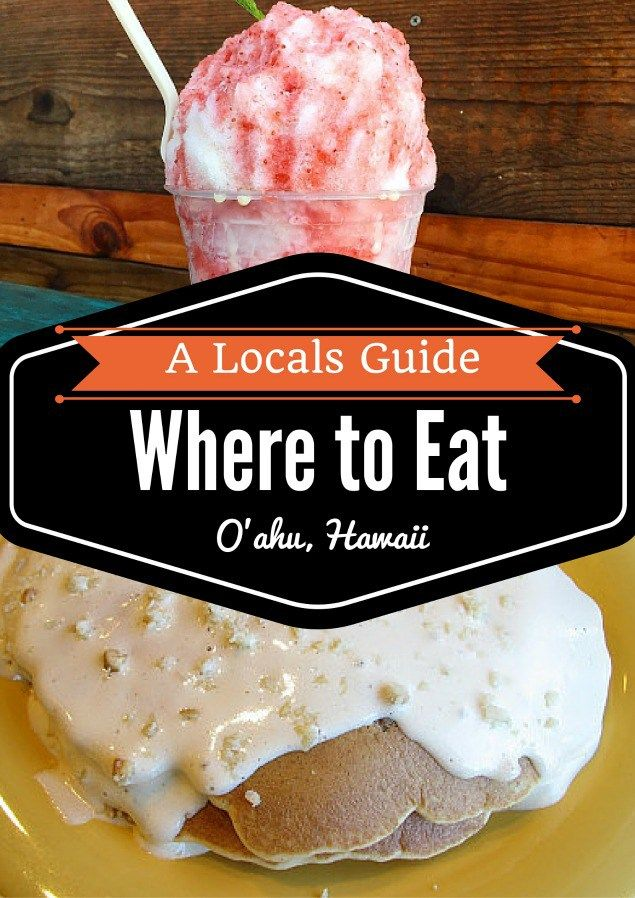 Where to Eat Oahu Hawaii