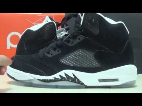 Air Jordan 5 Oreo With Insole Review, hiphoplp.com