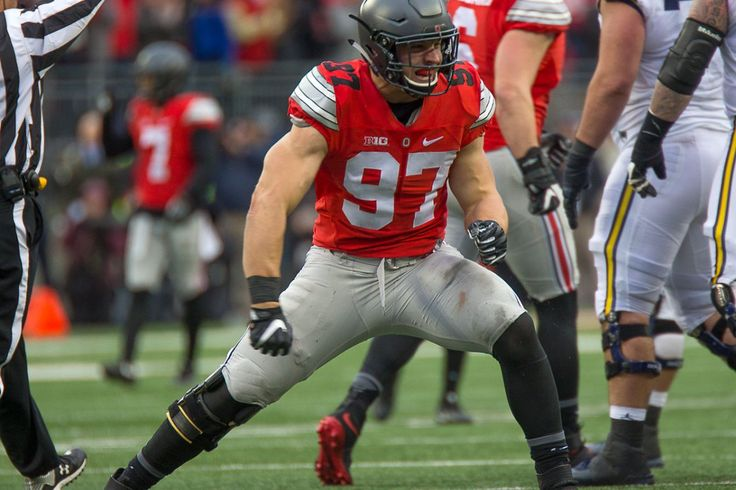 Buckeyes NFL Draft Nick Bosa Ohio State Football Big Ten Football