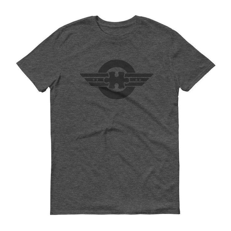 Men's Captain Autism - Superhero Autism T-Shirt