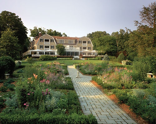 Mayflower Inn, Washington, CT...remodeled in the 1980s to how it looks here.