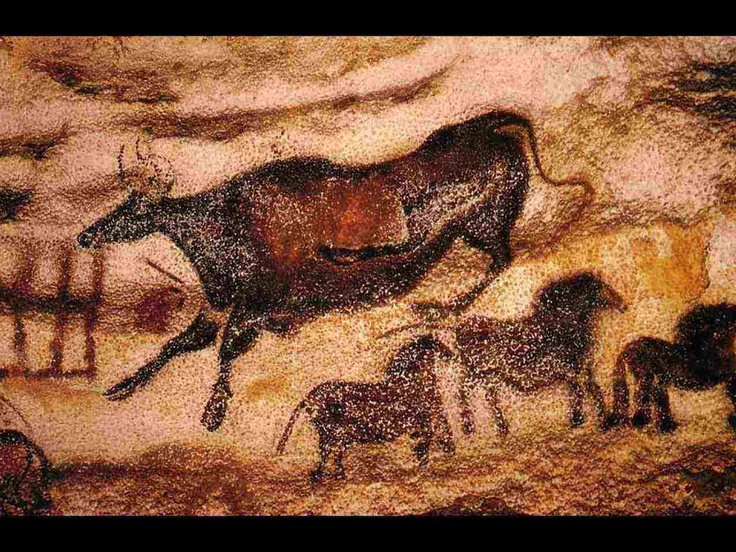Palaeolithic Cave Painting Lascaux