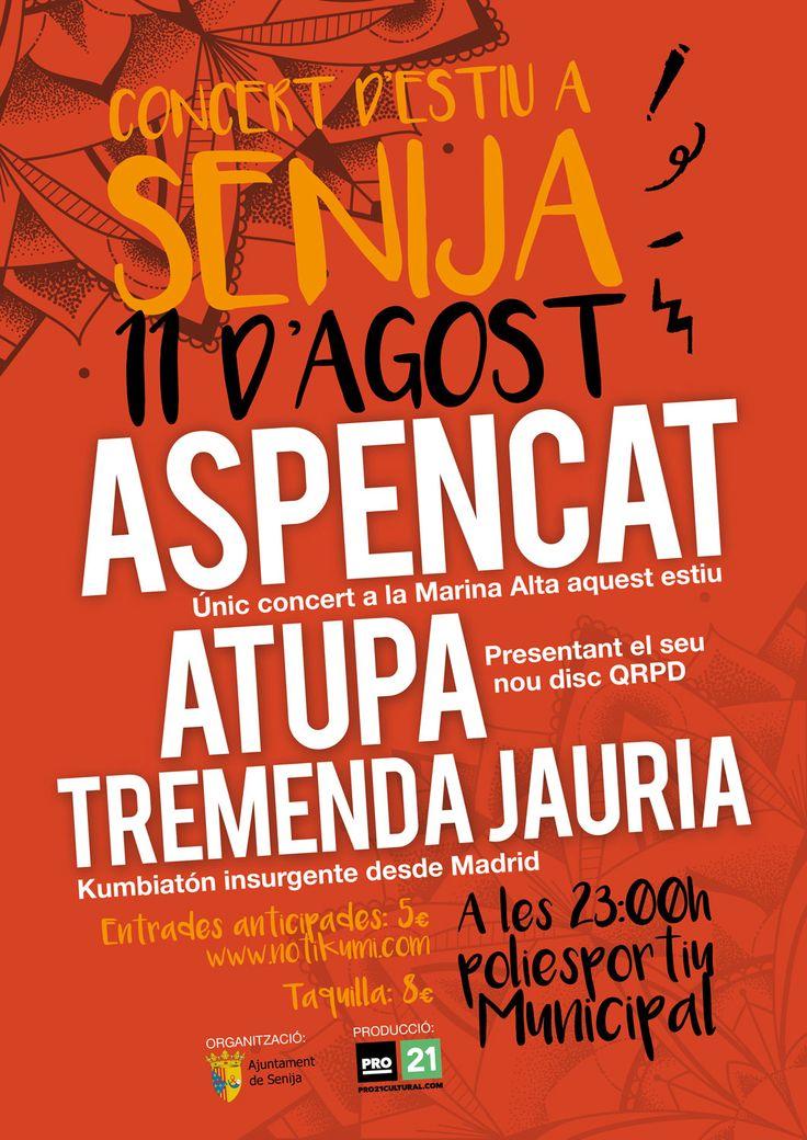 Concert d'estiu a Senija