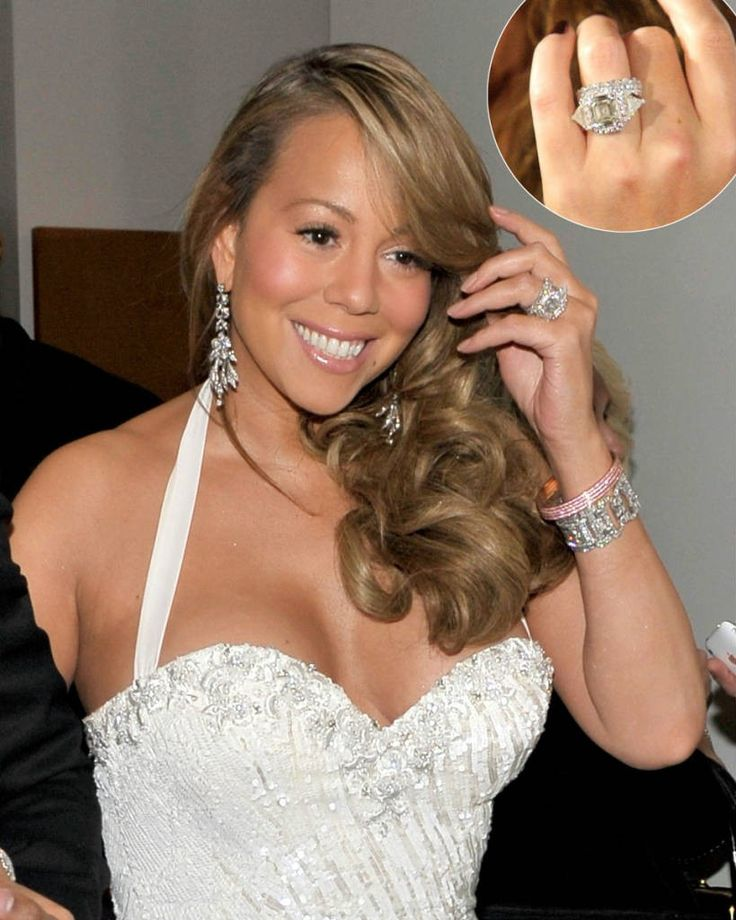 biggest celebrity engagement rings