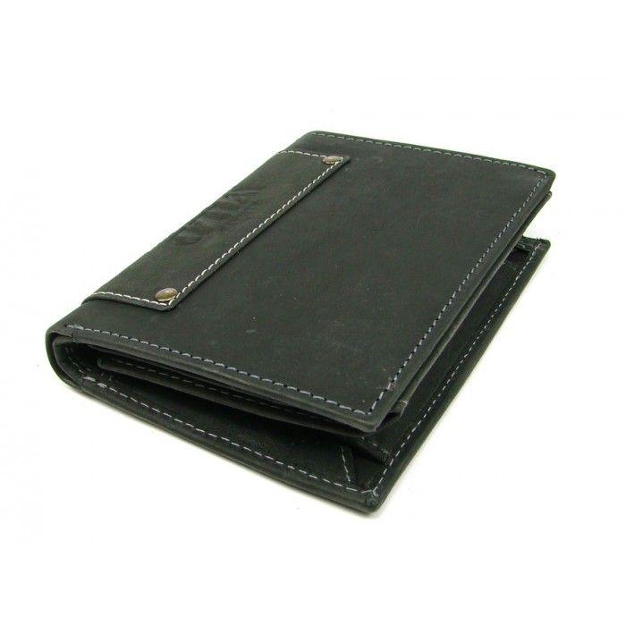 Pánská moderní kožená peněženka - peněženky AHAL