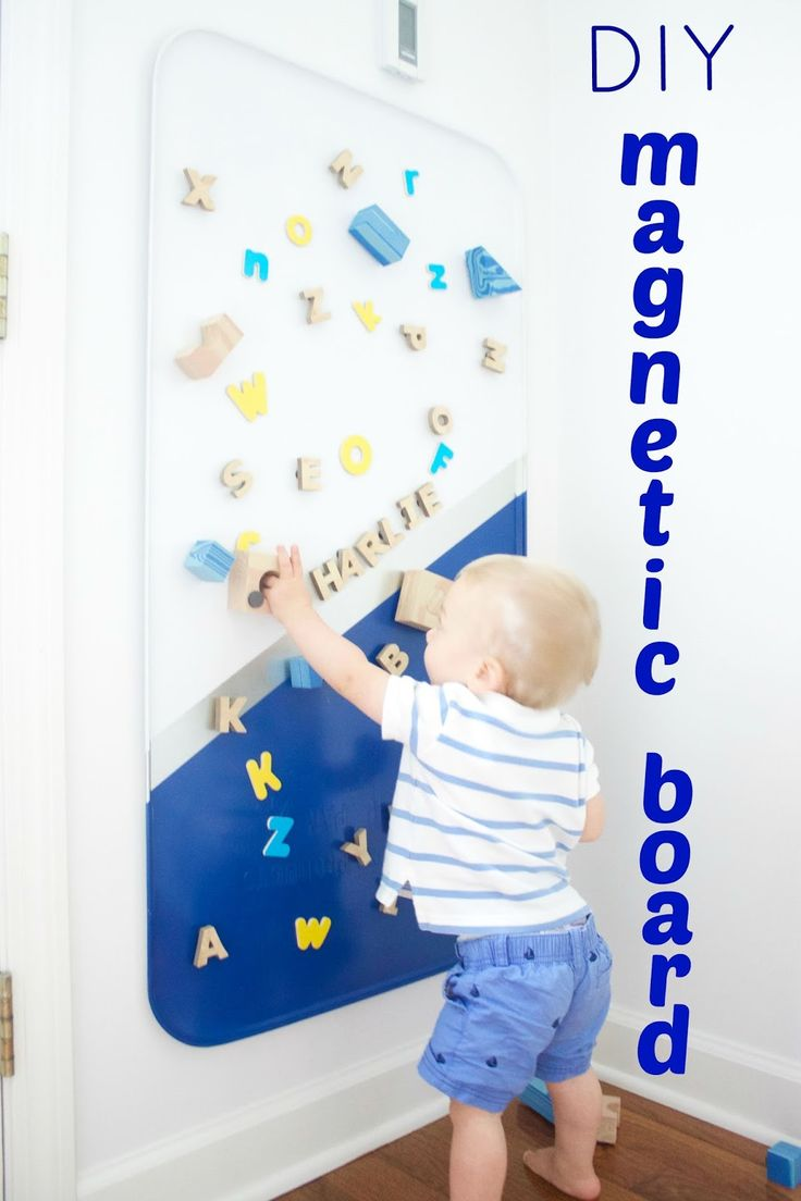 the picket fence projects: My Daily Bubble: Make your own magnetic board