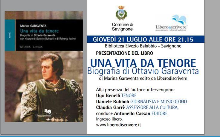 """""""Una vita da tenore"""" a Savignone"""