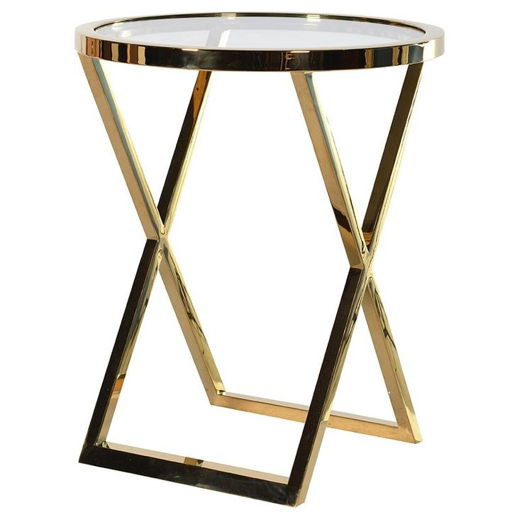 Buy Antiqued Glass Coffee Table Gun Metal Base At Fusion: Best 25+ Gold Side Tables Ideas On Pinterest