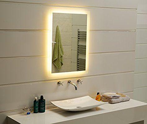 Die besten 25+ Spiegel mit led Ideen auf Pinterest Badspiegel - badezimmerspiegel nach mass