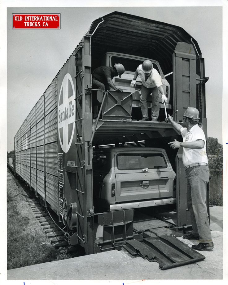 1975 trainload of International Scouts.