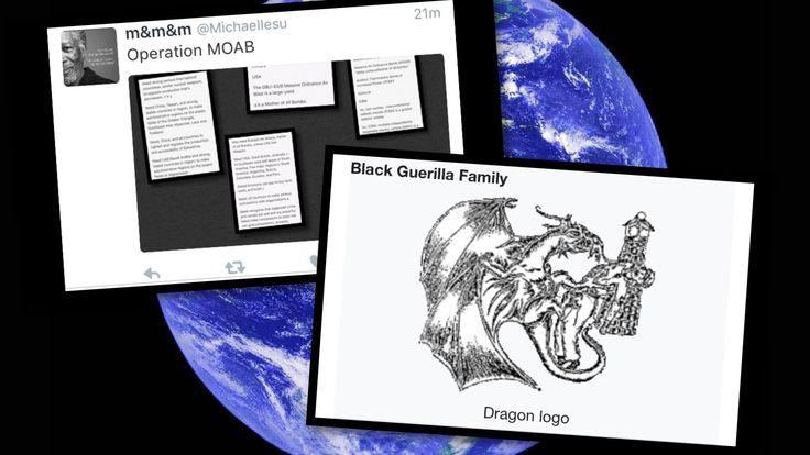 Black Guerrilla Family  https://en.m.wikipedia.org/wiki/Black_Guerrilla_Family