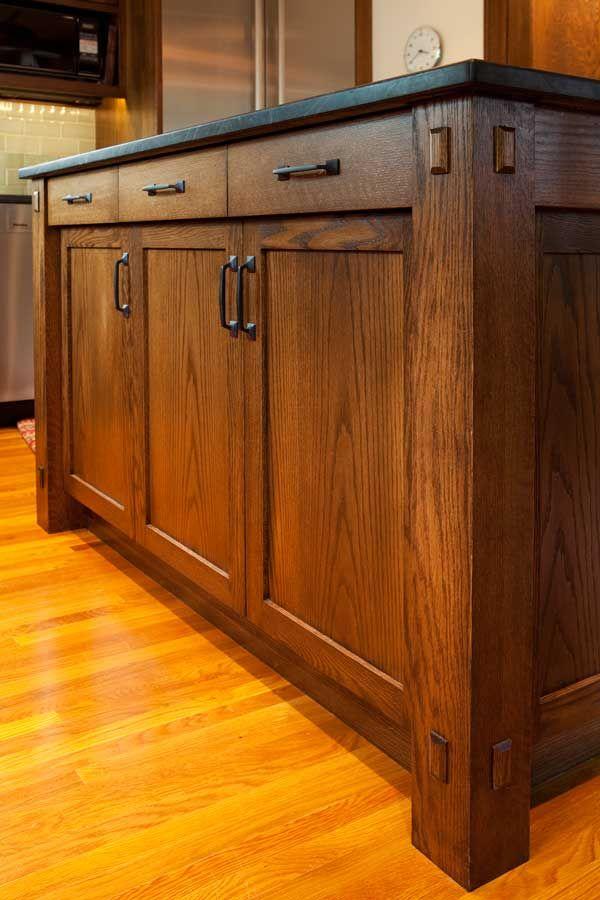 25 best ideas about craftsman kitchen on pinterest craftsman kitchen fixtures craftsman bar for Prairie style kitchen design