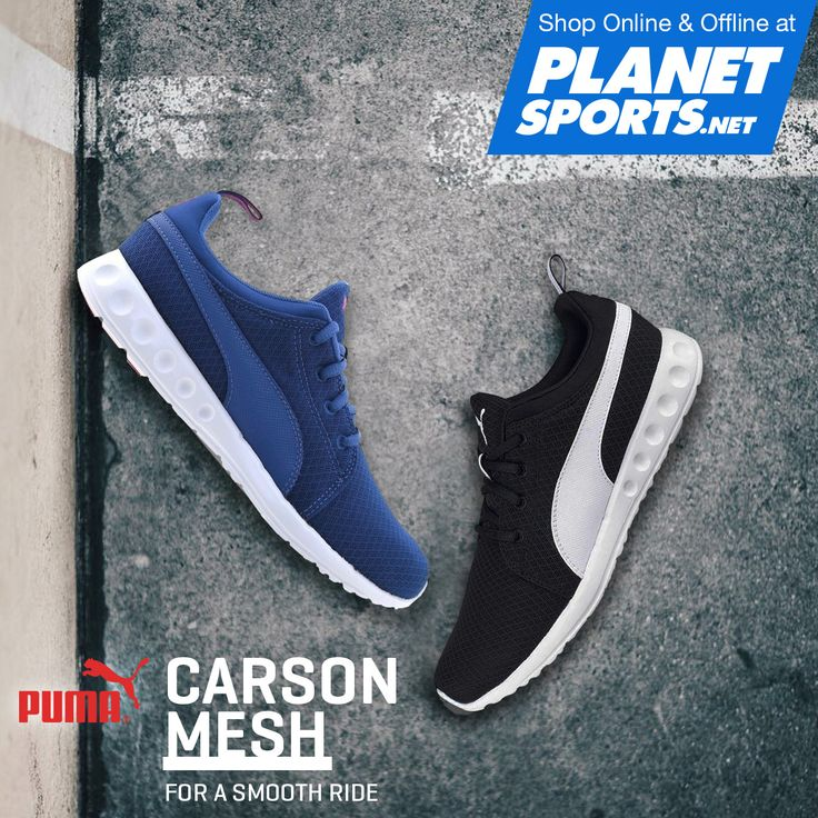 Style meets performance in the Carson Mesh. EVA midsole provides cushioning and a smooth ride. New mesh delivers breathability and a fresh modern look, while the clean toe looks sleek, taking care of all your running and stylistic needs.