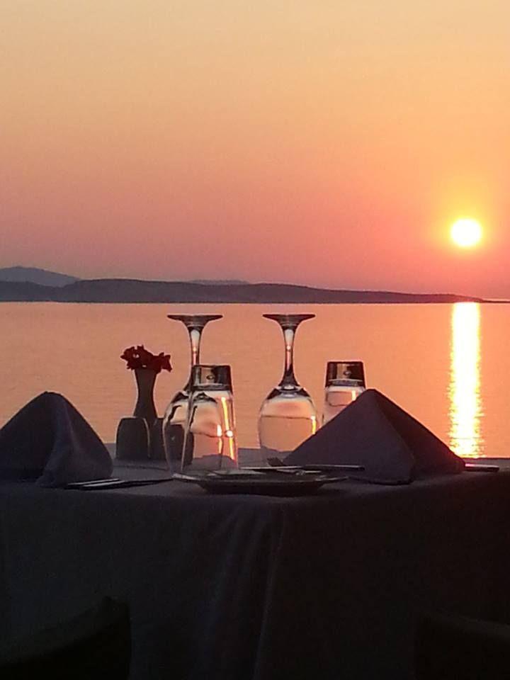 #Kohili Restaurant #DelfinoBlu #Corfu #Romance #Sunset