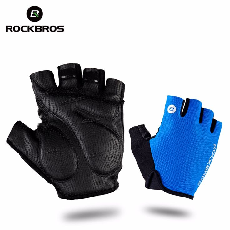 ROCKBROS Cycling Gloves Half Finger Bike Gloves Shockproof Breathable MTB Mountain Bicycle Gloves Men Sports Cycling Clothings //Price: $26.95 & FREE Shipping //     #hashtag1
