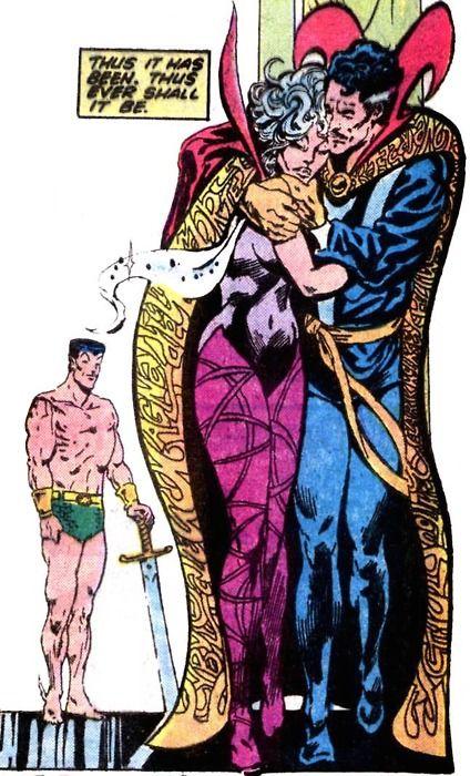 Clea and Doctor Strange | Umar & Clea | Pinterest | Marvel ...