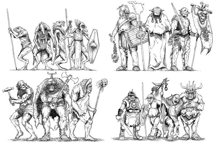 60 best RPG Old School images on Pinterest Art illustrations