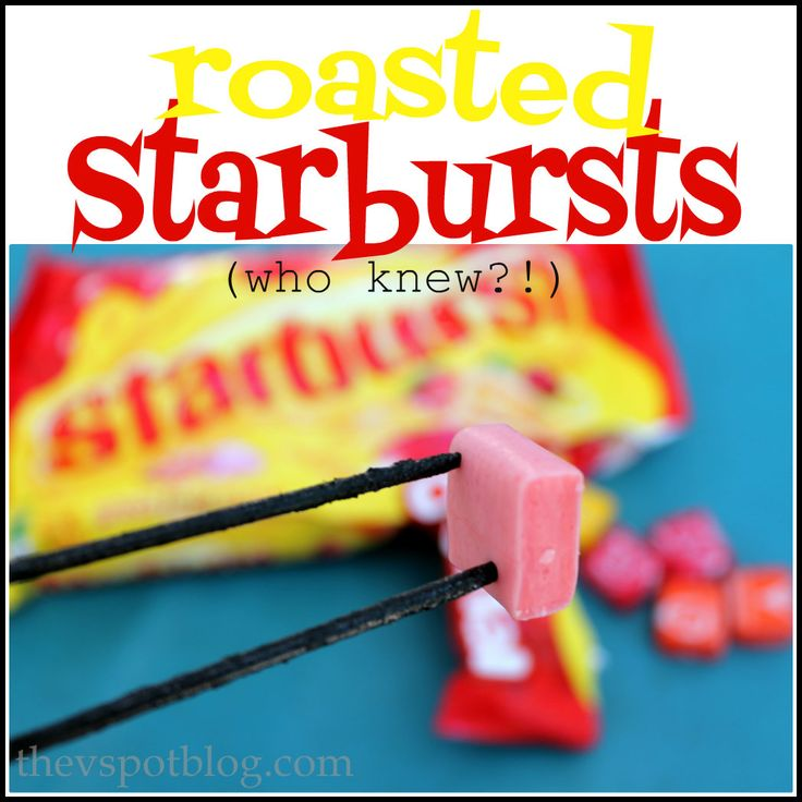 We just got back from our annual camping trip at our favorite place in the world…  One of the things we do there? Roast Starburst candies. I know it sounds super strange. I first heard about it from my friend, Xazmin a few years ago. She said they were wonderful and I didn't believe …