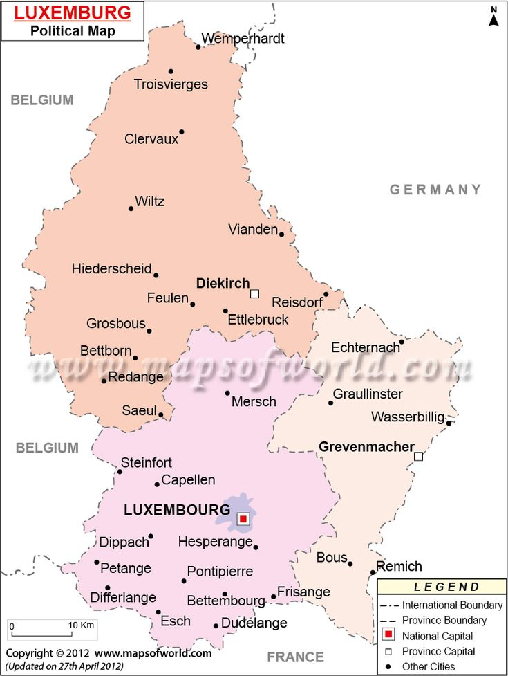 Conocido oficialmente como el Gran Ducado de Luxemburgo, situado en la Europa occidental, y con frontera con Alemania, Francia y Bélgica, es un país interior dividido en dos regiones, Oesling y Gutland, en el norte y sur respectivamente.