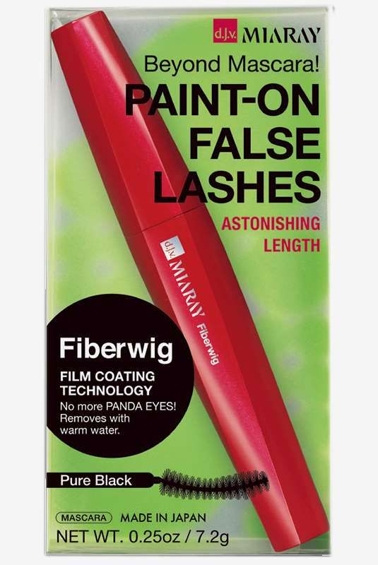 Fiberwig Paint-on False Lashes Mascara Pure black 180 kr