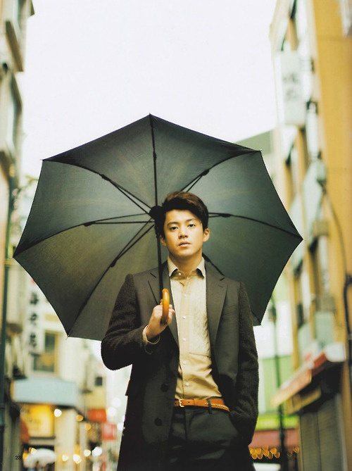 #oguri #shun He is my first JAPANESE actor that I fall in love with..