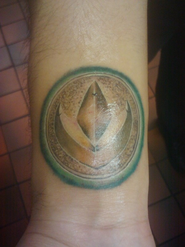 Green Ranger Power Coin