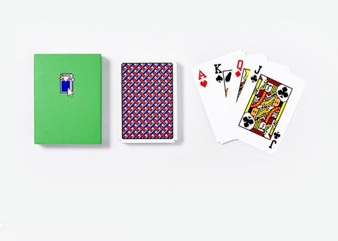 Solitaire Cards: Susan Kare's original artwork for the Windows 3.0 Solitaire game is featured on our new set of playing cards (with notches!)
