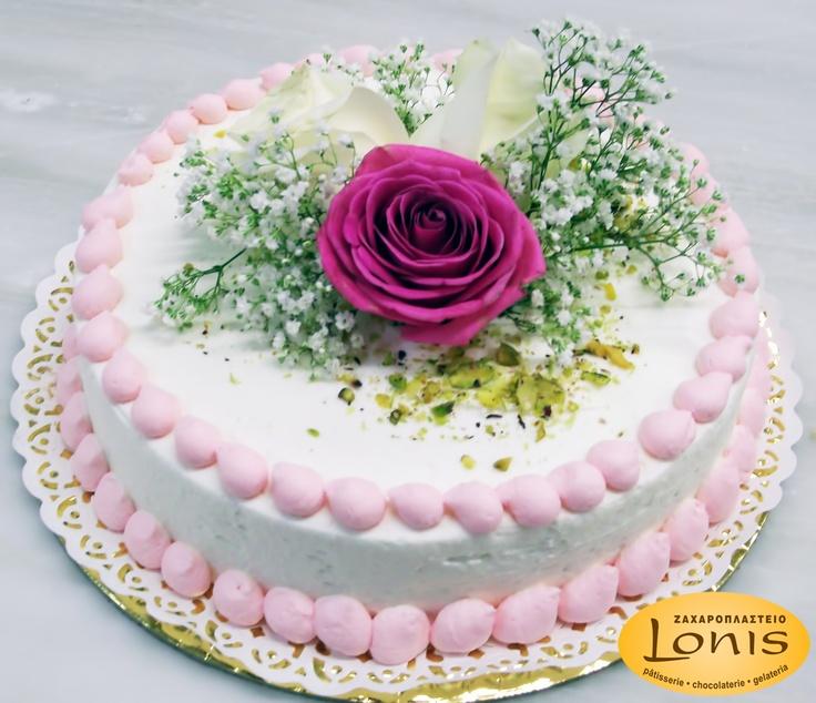 Μοναδική σε εμφάνιση & γεύση τούρτα γάμου - αρραβώνων #wedding #cake
