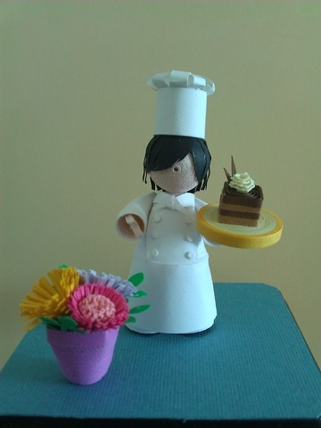 Quilled Chef