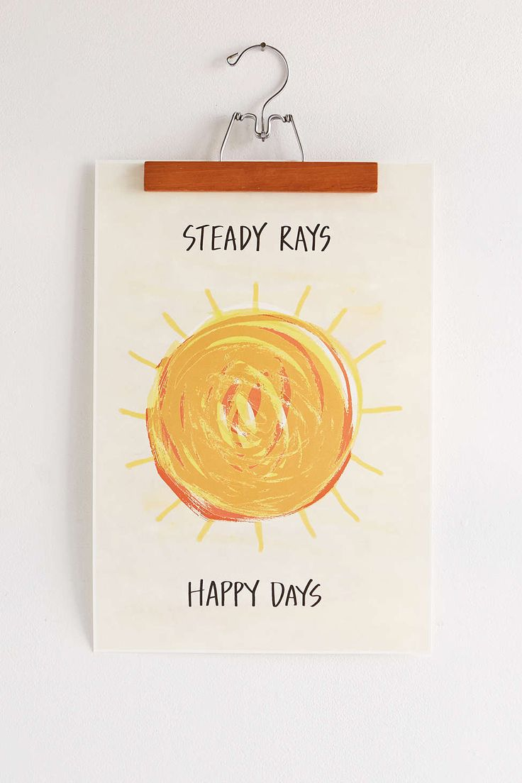 Assembly Home Steady Rays Art Print