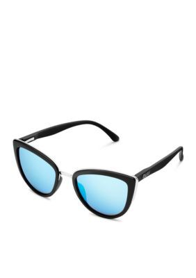 Quay Australia Women's My Girl Sunglasses - Black Blue - One Size
