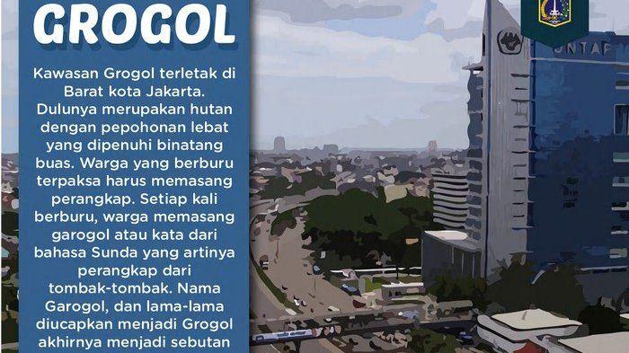 Asal Usul Kata Grogol di Jakarta Barat Ternyata dari Perangkap Binatang Buas