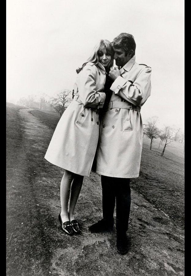#Stylish -Burberry 1960-