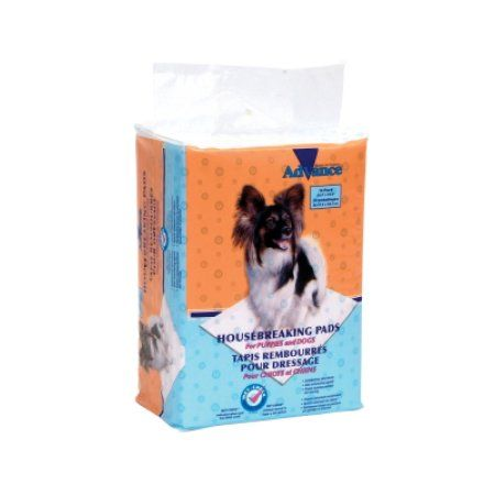 Advance Dog Training Pads With Turbo Dry Technology 14/Pkg, Multicolor