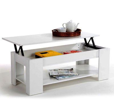 adjustable height coffee table diy white furniture uk