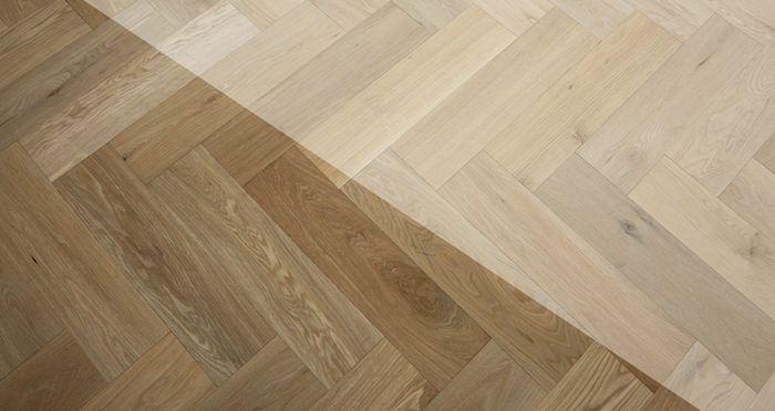 Unfinished Herringbone Oak Engineered Wood Flooring   Direct Wood Flooring