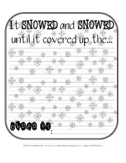 Dream Snow Prediction Page Freebie!