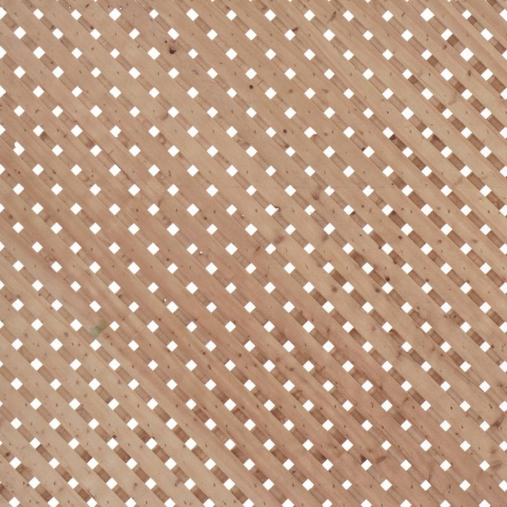 Shop Spruce Privacy Wood Lattice Common 0 5 In X 4 Ft X