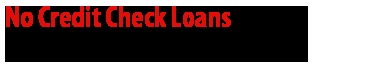 You are nervous to get the loan because of your imperfect credit condition? These loans are available to all the people in spite of their credit status. So, you may avail swift cash help as with these loans. This loan may approve without any need of credit check procedure. You are awfully freedom to apply for these loans.