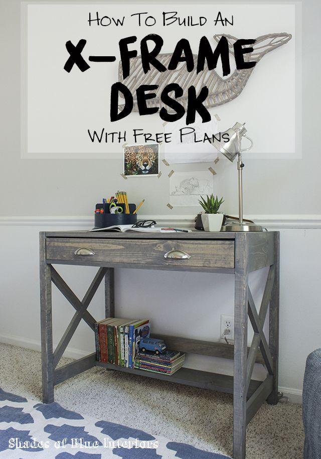Best 25 Desk Plans Ideas On Pinterest Build A Desk