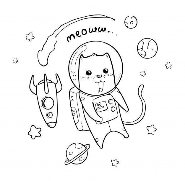 Space Meow Nel 2020 Tatuaggi Mani Illustrazione Grafica Illustrazione