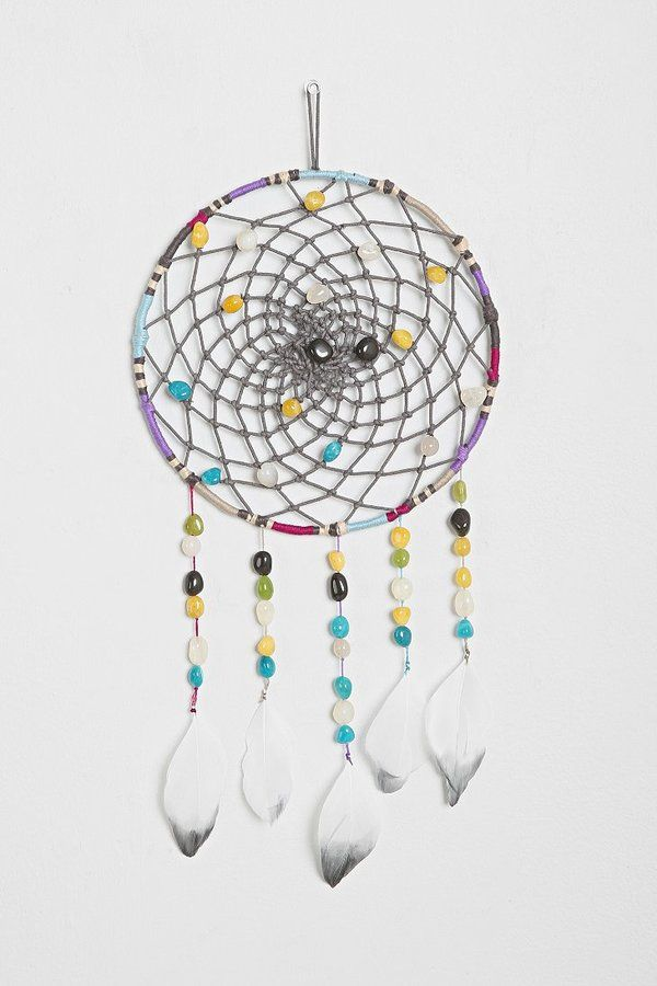 how to make a dreamcatcher with household items