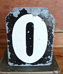 Vintage Cricket Score number